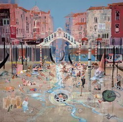 Venice Beach by Tom Butler -  sized 40x40 inches. Available from Whitewall Galleries
